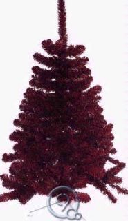 3ft University of Louisville Red and Black Christmas Tree
