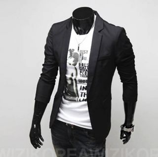Mens Casual Top Design Slim Fit Blazers Coats Suits Jackets Tops XS s