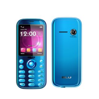 Brand New Blu Electro T610 Blue Dual Sim Unlocked GSM Quadband Bar