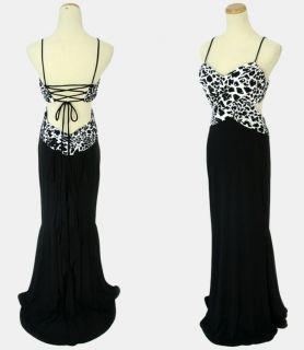 Blondie Nites $180 Black Prom Ball Evening Formal Gown