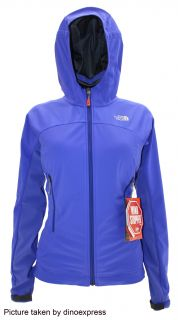 The North Face Womens CIPHER HYBRID gore tex hoody jacket BLUE nwt M