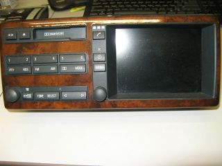 2001 BMW 7 Series Navigation Cassette Radio