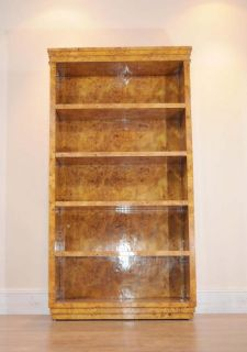 Single Art Deco Open Bookcase Bookcases Shelf