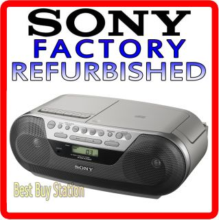 Sony CFDS05 CD Radio Cassette Player Recorder Boombox Stereo Audio