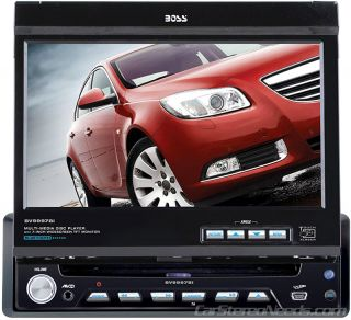 Boss Audio 1 DIN 7 Touch Screen Monitor Car Indash DVD CD iPod Player