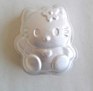 Aluminum Hello Kitty shape cake mold tart and Boudin mold baking mold