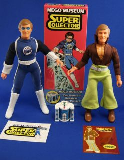 Mego Museum Super Collector/ Brick Mantooth Action Figure Sets