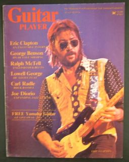 Guitar Player Magazine 1976 Eric Clapton Lowell George