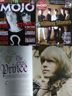 Mick Jagger Keith Richard Brian Jones Lot 2 Mojo Magazines