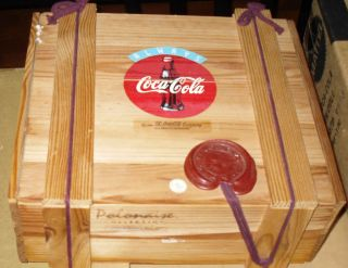 New in SEALED Box Coca Cola Polonaise Christmas Ornaments