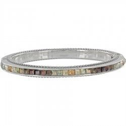 Brighton Jewelry Spectrum Crystal Hinged Bracelet NEW COLLECTION