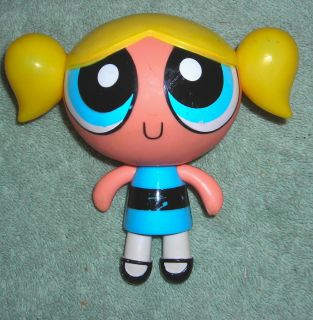 Powerpuff Girls Bubbles 5 Toy Action Figure 1999