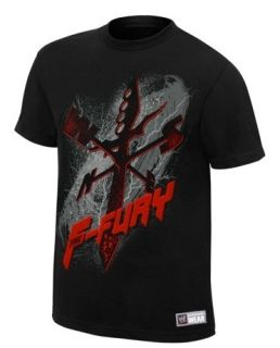 Brock Lesnar F 5 Fury F Fury WWE Authentic T Shirt Official Licensed