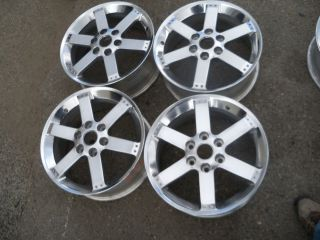 GMC Envoy Buick Rainier Chevy Trailblazer 17 Polished Finish Wheels