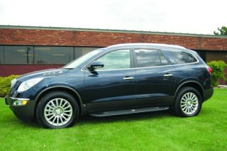 Running Boards 2008 2012 BUICK ENCLAVE Black Factory Style Steps