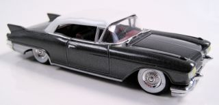 Hot Wheels 57 Cadillac Eldorado Biarritz Charcoal Grey Cool