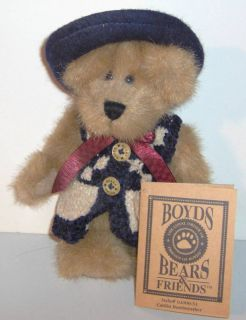 Caitlin Berriweather Boyds Bears Friends Issue