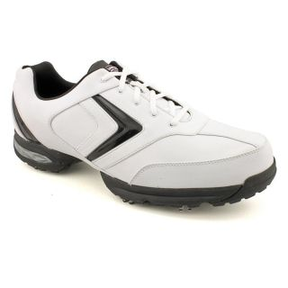Callaway Golf Chev Comfort Mens Size 14 White Leather Golf Shoes