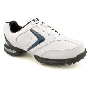 Callaway Golf Chev Comfort Mens Size 8.5 White Leather Golf Shoes
