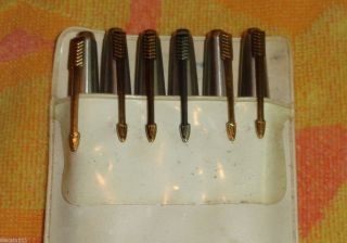 Set of 6 Vintage Arrow Pens Fountain Calligraphy Pen Markers