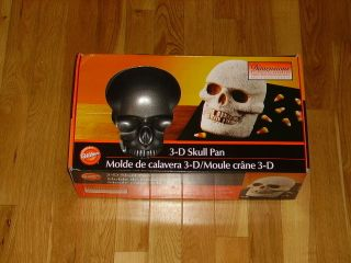 Pirate Bone Halloween 3D 3 Dimensions Cake Pan Mold 2105 1181