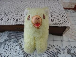 Antique Best Made Toys Canada Yellow Bear Rubber Snout