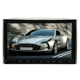 Motorized 2 Din Car Stereo DVD Player Double Din 7 Touch Screen Radio