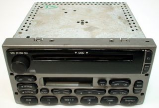FORD EXPLORER VEHICLE MODEL FACTORY CAR STEREO CASSETTE CD DISC PLAYER