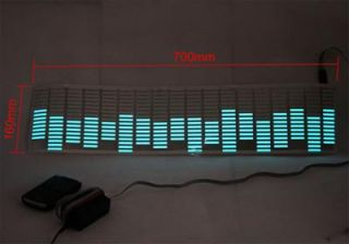 Sound Music Activated Car Stickers Equalizer Glow 70 16cm 8 Colors