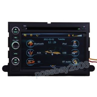 05 09 Ford Mustang Car GPS Navigation Bluetooth iPod Radio USB  TV