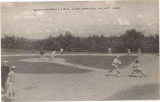 MA Becket Camp Greylock Senior Baseball Field M18186