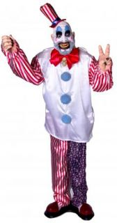 Animated Captain Spaulding Lifesize Clown Halloween Haunted House