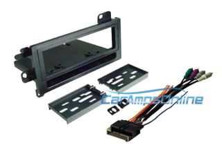 Car Stereo Radio Dash Kit Installation Mount w Premium Sound