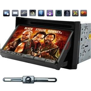 USP Double DIN 7 in Dash Car Stereo DVD Player Multimedia