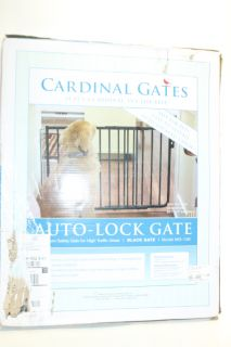 is 100 % functional cardinal gates auto lock gate black