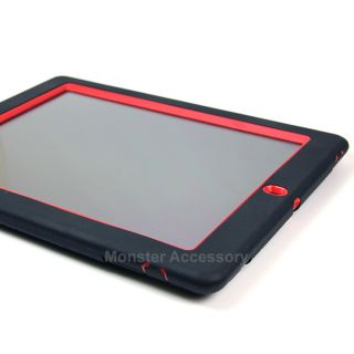 Red Kickstand Hard Case Cover For Apple New Ipad 3 3rd Generation