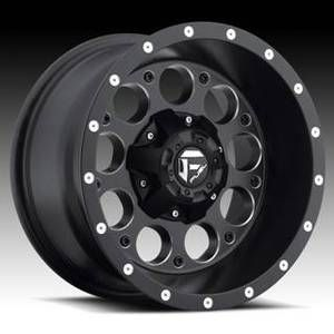 Revolver D525 15x8 Black 15x10 Wheel Set Truck Rims Wheels