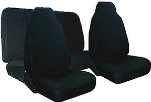 New Black High Back Car Truck Racing Seat Cover Covers