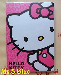 Hello Kitty cat Pink B6 weekly 2013 schedule book book diary planner