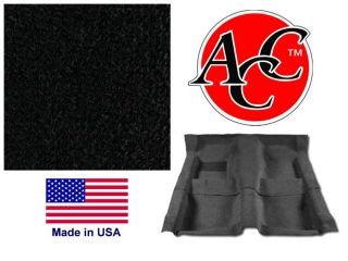 camaro black carpet kit nylon loop made in the usa