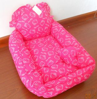 cat pet bed mat 100% cotton padded warm soft small ize hot pink KT CAT