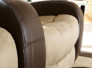 Seatcraft Catalina Home Theater Seating 2 Seats Manual Brown on Brown