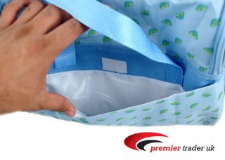 Piece Baby Diaper Nappy Changing Bag Sky Blue Green