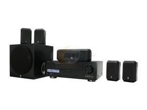 Yamaha YHT 391BL 5 1 Channel Home Theater System