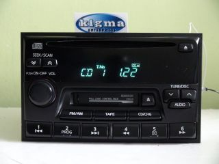 Nissan Maxima 1999 CD Cassette Player Radio CN528 None Bose Regular