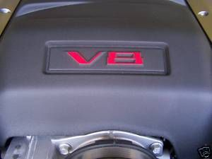 2010 2011 2012 CHEVROLET CAMARO SS V8 ENGINE Overlay Decal 2 U Choose