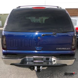 2000 2006 chevy tahoe suburban led tail lights smoke