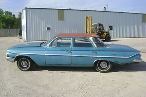 1961 61 Chevy Bel Air Parts Car Impala Biscayne 4dr Original