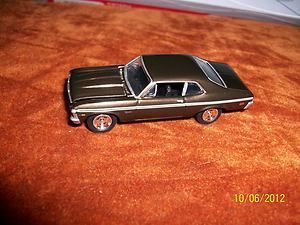 1969 CHEVROLET NOVA SS BY JOHNNY LIGHTNING 1 64 GREAT DETAIL