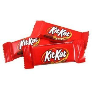 36 Kit Kat Fun Size Candy Bars Hersheys Chocolate Halloween Candy